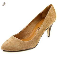 Nina Womens Kellyanne Toast Kidsuede Pumps Shoes - Size 7.5M - Nina pumps for women (*Amazon Partner-Link)