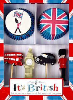 british cake toppers