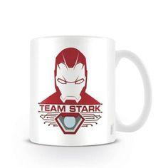 Caneca Guerra Civil Team Stark