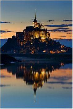 Mont St. Michel, France. by TinyCarmen