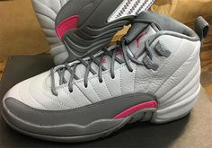 finest selection c8957 581fc Air Jordan 12 Wolf Grey Vivid Pink 510815-029