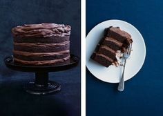 My absolute favourite chocolate buttermilk layer cake with chocolate creamcheese frosting (Donna Hay)