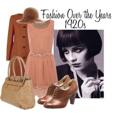 Great Example of an Everyday look inspired by the Roaring 20's