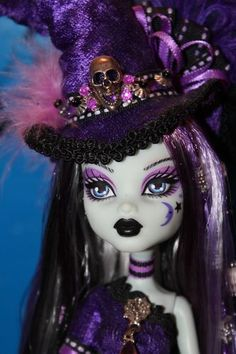 Monster High OOAK Frankie Repaint Custom Witch Doll by Passion Very Detailed   eBay