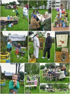 Kindertreff im Heimatgarten Rheinhausen! Urban Gardening in Duisburg / Germany