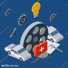 Car Repair Service, Logo, Vehicles, Logos, Automobile Repair Shop, Car, Environmental Print, Vehicle, Tools