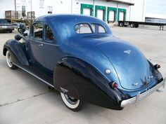 1937 Hudson Deluxe 8 Coupe