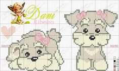 Discover recipes, home ideas, style inspiration and other ideas to try. Cross Stitch Heart, Cute Cross Stitch, Cross Stitch Animals, Cross Stitch Designs, Cross Stitch Patterns, Cross Stitching, Cross Stitch Embroidery, Embroidery Patterns, Stitch Cartoon