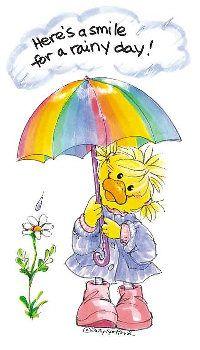 """Into each life some rain must fall."" (Alan Roberts) Suzy Zoo"