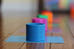 Toddler Activities - Color Matching