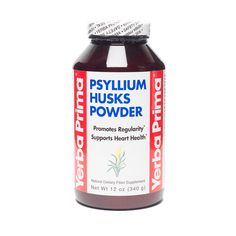 Mix this Psyllium Husk powder into your beverage to help promote healthy digestion and elimination, especially if you are on a low carb diet. Psyllium Husk Fiber, Psyllium Husk Powder, Vegan Vitamins, Fiber Supplements, Healthy Groceries, Healthy Detox, Gluten Free Flour, Nutrition Information, Spice Mixes