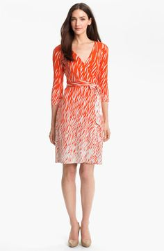 Diane von Furstenberg 'New Julian 2' Silk Wrap Dress available at Nordstrom