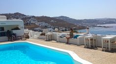 View from The Princess Of Mykonos Hotel