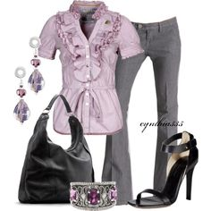 Lovely Lavender, created by cynthia335 on Polyvore