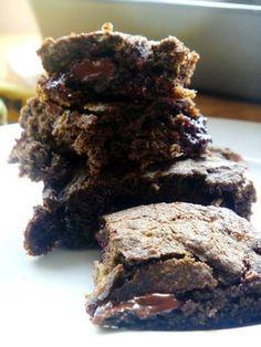 Dark Chocolate Banana Bread Brownies