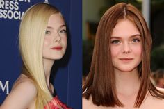 Before, she looked like an angel; now, she resembles a bright-eyed French schoolgirl. We couldn't tell you which one's better.   - MarieClaire.com