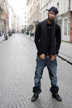 La Fouine Look By Blz Jeans