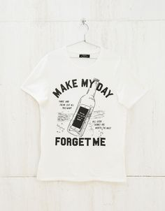 'Faith & Glory /Make My Day' top. Discover this and many more items in Bershka with new products every week
