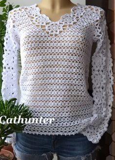 Gratis Nederlands haakpatroon van deze leuke trui, die je op verschillende manieren kunt maken. ZIE je de SITE niet goed, DRAAI dan je Tablet of telefoon.
