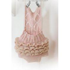 Victorias ruffled Party Dress - Babyzonen