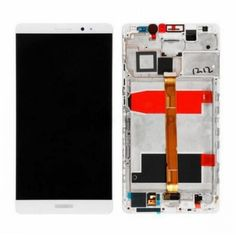 For Huawei Ascend Mate 8 LCD & Touch Screen Assembly With Frame Replacement- White @ http://www.ogodeal.com/for-huawei-ascend-mate-8-lcd-digitizer-touch-screen-assembly-with-frame-white.html