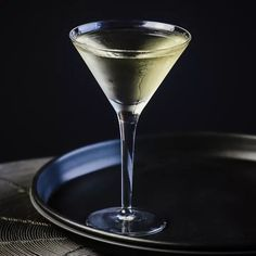 This two-ingredient take on the classic Martini is named for the fashion icon. Brandy Cocktails, Vodka Cocktails, Cocktail Drinks, Fun Drinks, Martinis, Summer Cocktails, Martini Bar, Christmas Cocktails, Easy Cocktails