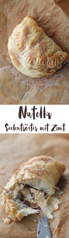 Nutella Seelentröster aus nur zwei Zutaten und Zimtzucker - schnelles Soulfood mit Nutella