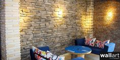 How to Install Brick Veneer on an Interior Wall Brick Veneer Panels, Stone Wall Panels, Brick Face, Wall Design, House Design, Faux Panels, Best Interior, Interior Doors, Stone Veneer
