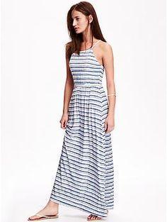 Sleeveless Jersey Maxi Dress for Women   Old Navy