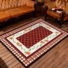 zz Modern Area Rugs Non-Skid Bohemian Carpet for Room Dininng Room Bedroom - Easy to Retro 4, Modern Area Rugs, Program Design, Carpet, Bohemian, Cleaning, Bedroom, Easy, Home Decor