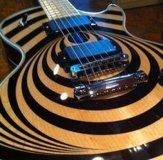 Zakk Wylde's Gibson Les Paul Custom Vertigo