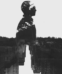 Double Exposure Photography by Yaser Almajed | Abduzeedo Design Inspiration