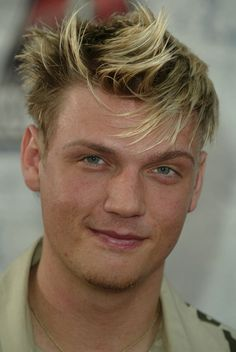 Nick Carter Wearing His White Outfit.