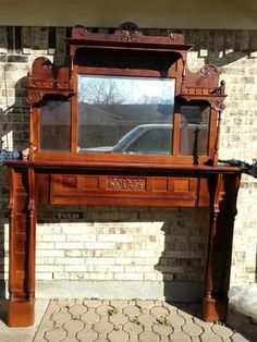 Antique fireplace mantel antiques pinterest antique for Architectural salvage fort worth
