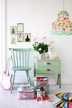 Nice platform to think of color schemes/lighting ideas & gorgeous colors for a girls room #matildajaneclothing #MJCdreamcloset