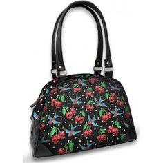 Liquorbrand Cherry Skulls Bowling Bag
