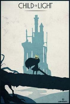Child of Light Poster - Created by Felix Tindall