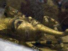 Egito anuncia nova descoberta na Tumba de Tutancâmon, no vale dos Reis, em Luxor (Egito), que está sendo investigada. Khaled Desouki/AFP