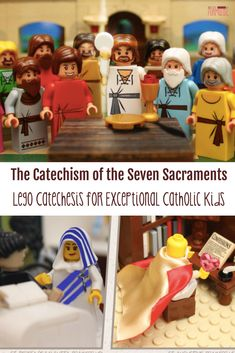 I'm raising gifted and Twice-Exceptional Catholic kids, and I want them to own their faith. The Catechism of the Seven Sacraments is perfect for Catholic families, especially families raising exceptional Catholic kids.