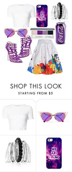 """""""#3"""" by kadicz ❤ liked on Polyvore featuring Rosetta Getty, Camilla Skovgaard, Fendi, Avenue, Casetify and Clinique"""
