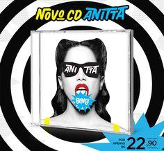 CD Bang Anitta por 22,90 #Bang #Anitta