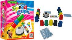Speed Cups - Divertido juego de cartas para disfrutar en familia o con los amigos. A partir de 8 años