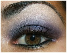 very dark, sultry purple smoky eye, which is best suited for clubbing and special occasions – but great for fall