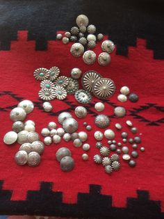 Beautiful Navajo buttons from my private collection.