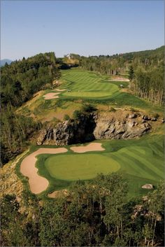 Dramatic Quebec, Canada golf Note: Visit the Mark Robinson website for more details for available stock, commissions, exhibitions or tournament enquiries - www. Golf Websites, Famous Golf Courses, Golf Holidays, Golf Player, Golf Tips For Beginners, Golf Irons, Golf Lessons, Golf Accessories, Play Golf