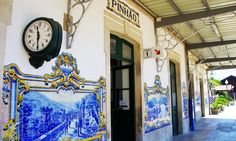 Ports of call: a #wine tour of the #Douro - The Guardian 21.05.2016 | Portugal's Douro region is famous for its port, but also produces fine, good-value reds and top nosh. Perfect, then, for thirsty foodies like our writer... Photo: Pinhão railway station, with its traditional blue-tiled walls.