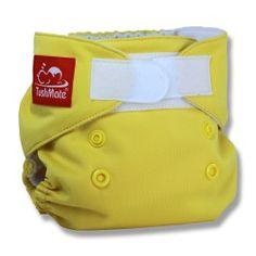 TushMate Newborn Diaper - Yellow Fits baby 5-14 lbs.