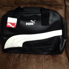 d47b4c87e Shop Women's Puma Black size OS Bags at a discounted price at Poshmark.  Description: Black and White Puma Bag.