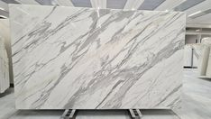 Statuario extra marble slabs available in stock, big size, polished surface, 20mm thick Statuario Marble, Marble Slabs, White Marble, Hardwood Floors, Surface, Tapestry, Stone, Big, Home Decor
