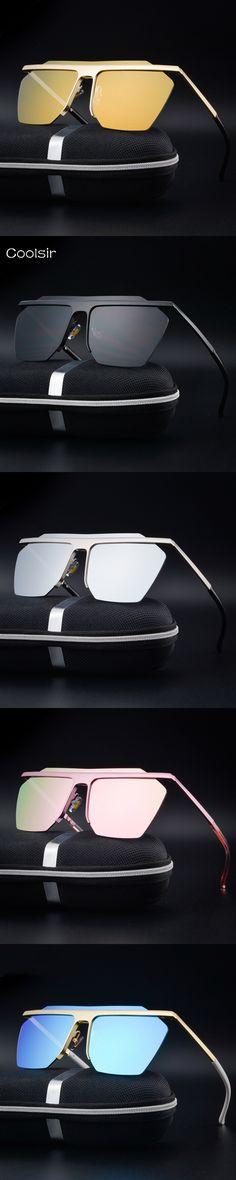 New 2017 Coolsir Brand Design Polarized Sunglasses Men/Women fashion Vintage Metal frame Driving Travel lentes de sol hombre